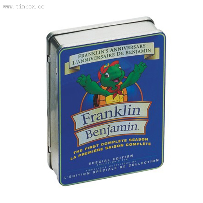 Franklin movie DVD tin holder