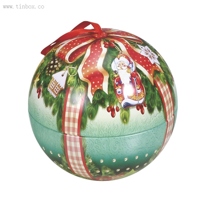 decorative metal christmas tin ball ornaments bulk - Christmas Ball Ornaments Bulk