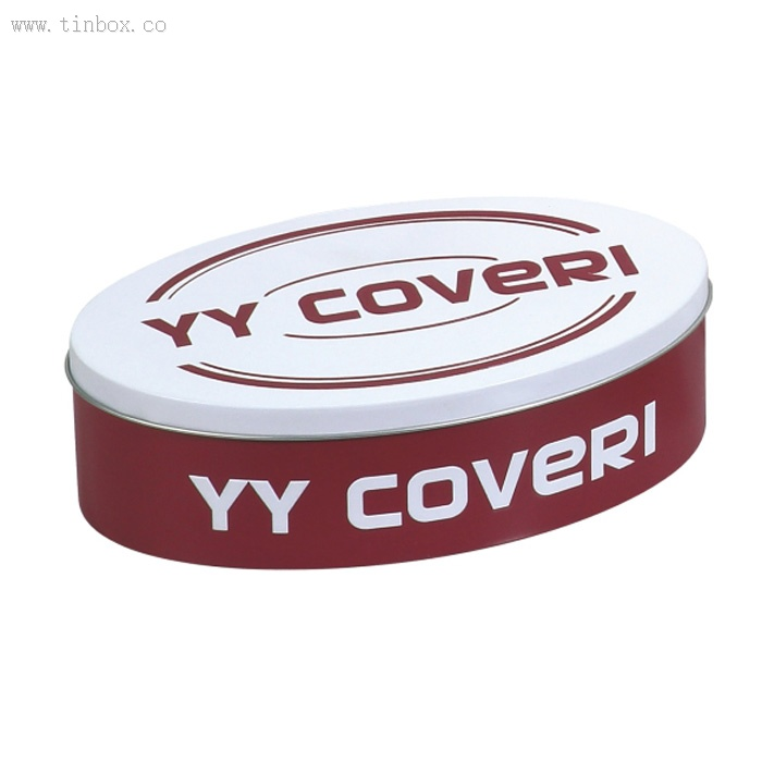 YY COVERI Oval Tin Box