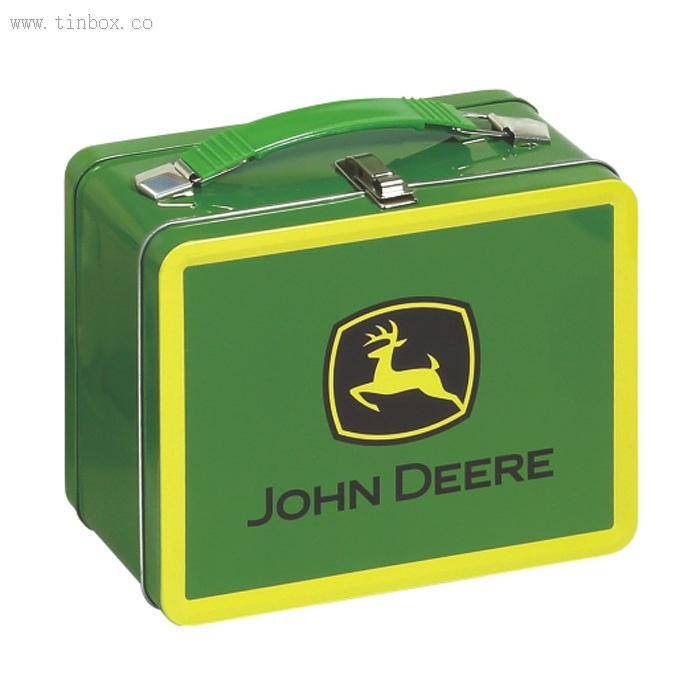 Personalized tin lunch box