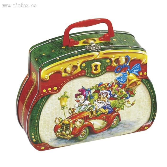 Handbag Shaped Tin Lunch Box