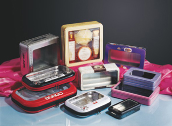 COSMETIC TIN BOX, WATCH TIN BOX
