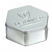 hexagon coffee tin box