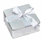 coffee square tin gift box