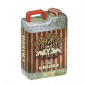 Oil pot shaped coffee tin box