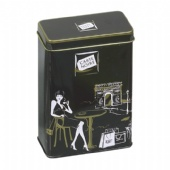 premium rectangular coffee tin box