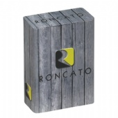 rectangle wine tin box with pillow lid