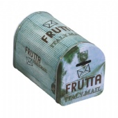 postbox shaped wine packaging tin box