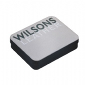 Wilsons wallet packaging tin box