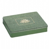 big rectangle biscuit tin box