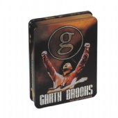 Garth Brooks CD-DVD tin box
