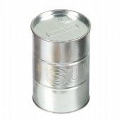 Oil Drum shaped biscuit Tin Box