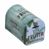 FRUTTA TTALYMAIL postbox shaped coin bank tin box