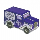 CADBURYS MINI FINGERS car shaped Coin bank tin box