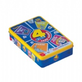 4 kids card games packaging tin box