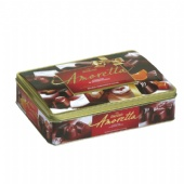 Rectangular shaped Embossed chocolate tin box