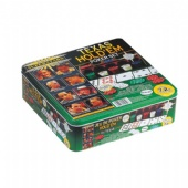 texas holdem poker square packaging tin box