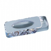 push and pull window pen tin box
