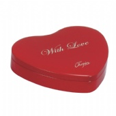 heat Valentine Tin packaging Box
