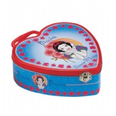 Snow White heart Valentine Tin Box