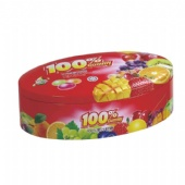 embossed candy tin box