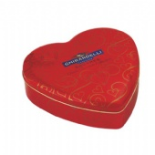 red GHIRARDELLI heart Valentine Tin Box
