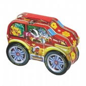 car shaped Halloween Tin Box