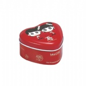 small heart shaped Wedding Gift Tin Box