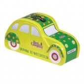 Car shaped chocolate tin box