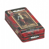 walkers rectangular tin box