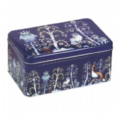 Large candy storage tin box