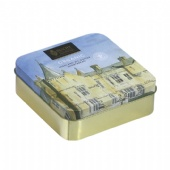 DUCHY ORGANIC square biscuit tin box