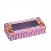 Moshi Monsters window Rectangular tin box