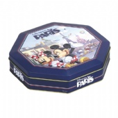 Disney Octagonal Tin Box