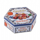 DONA JIMENA Hexagonal Tin Box