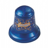 Bell shaped tin gift box for Christmas