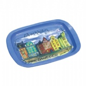 stockholm sweden rectangular tin tray