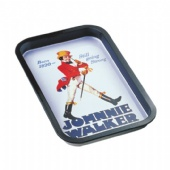 JOHNNIE WALKER Rectangular tin serving tray