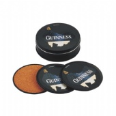 GUINNESS tin coaster