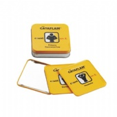 CATAFLAM Square tin coaster