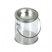 Clear Plastic Bucket Containers