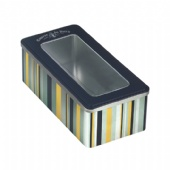 Large Rectangle Tins Box with Windows