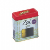 ZEST FOOD window rectangular tin box