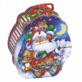 Decorative Custom Christmas Tins