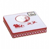 Decorative Christmas Tin Box