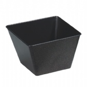 black square candy tin bucket