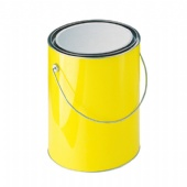 Clear Paint Can , PVC Bucket, Clear Pails