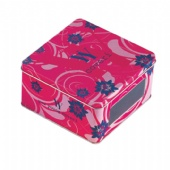 square window chocolate tin box
