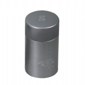 Round Narrow coffee Tin box with Inner Lid