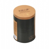 round Coffee Tin Box with plugLid